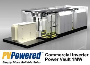 PV Powered Commercial Inverter